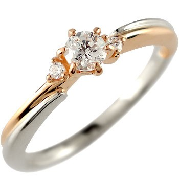 日本人気超絶の 婚約指輪 安い 婚約指輪 エンゲージリング プラチナ ダイヤモンド ピンクゴールドk18 18金 リング 一粒 ストレート プレゼント 女性 ペア, ミラノマート 7d2dba23