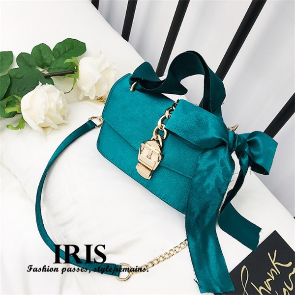 送料無料 ショルダーバッグ ハンドバッグ リボン付き 飾り ウエディング レディース カバン 日常 女の子 鞄