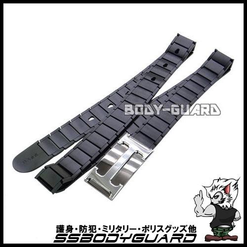 金属ベルト ブラック バックルH
