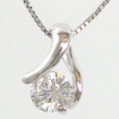 ビッグ割引 鑑定書付 ダイヤモンド プラチナ ネックレス 一粒 ダイヤ 0.2ctアップ ペンダント Pt900, 花と緑のはなここ cb651c24