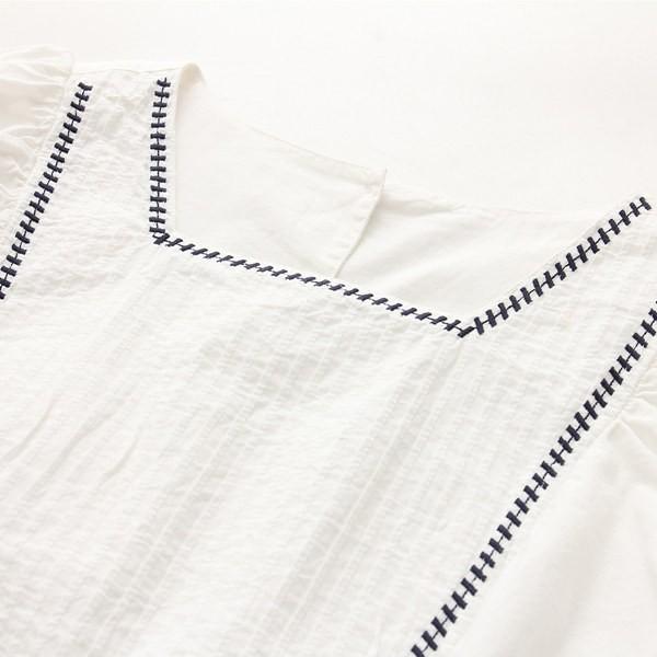☆胸元タックシャツワンピース♪ ロングシャツ 蝶結び シャツワンピ☆ ワンピース レディースロングシャツ