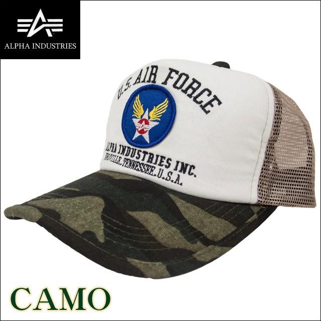 ALPHA INDUSTRIES(アルファ インダストリーズ) US AIR FORCE メッシュキャップ 帽子 14353700