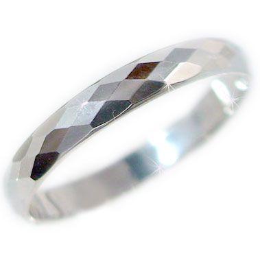 気質アップ プラチナ ペアリング ダイヤカット加工 Pt900 ペアリング 結婚指輪 ピンキーリング 結婚指輪 Pt900 指輪, ヘキナンシ:de2fb686 --- flicflachockey.de