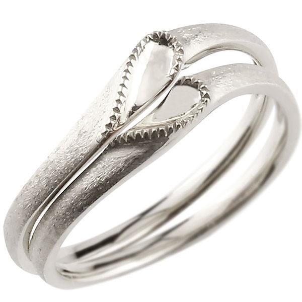 【メーカー直売】 つや消し 送料無 プラチナ pt900 マリッジリング スイートペアリィー カップル ハート ストレート シンプル ペアリング 安い 結婚指輪-指輪・リング
