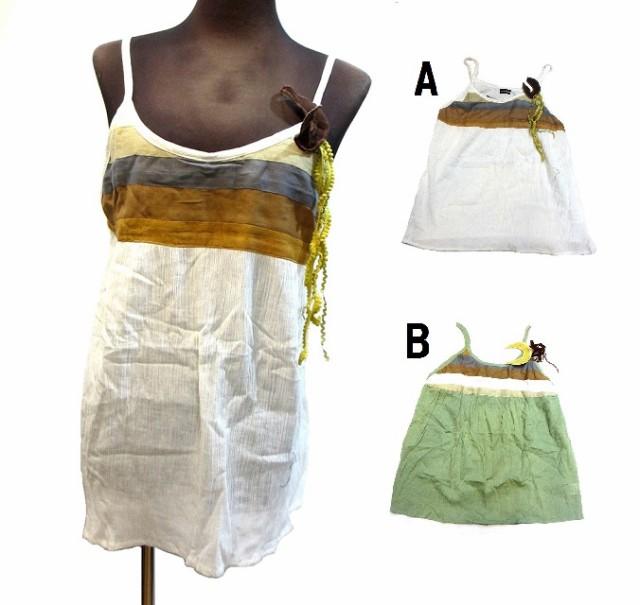 インド製コットンエスニックアジアンキャミソールエスニック衣料エスニックアジアンファッション