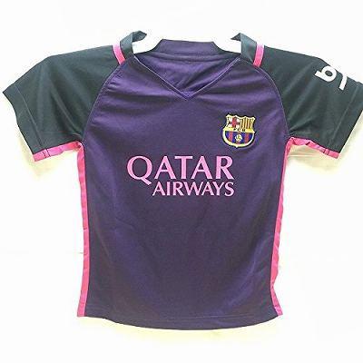 6d31b0325844ee 子供用 K134 17 バルセロナ NEYMAR JR*11 ネイマール 紫 ゲームシャツ パンツ付 /