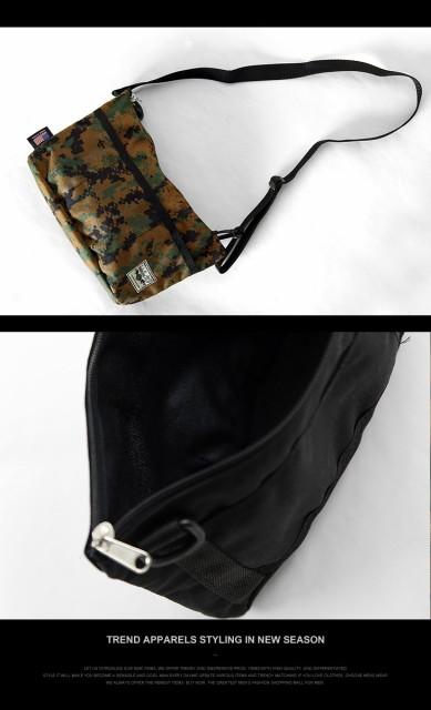 【Santa Ana MFG】サンタ アナ マニュファクチャリング ミニ ショルダーバッグ メンズ レディース おしゃれ アウトドア ランニング 鞄