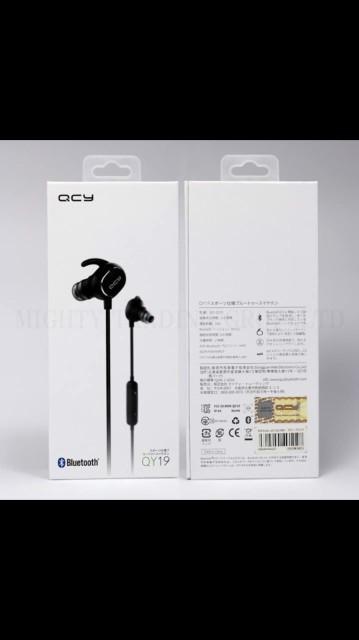 QCY-QY19 Bluetoothイヤホン ワイヤレスイヤホン
