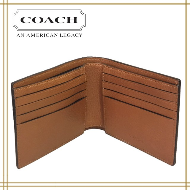 16b12440506c COACH アウトレット 二つ折り財布財布&アンド トリガー スナップ キーホルダー セット (BOX付)