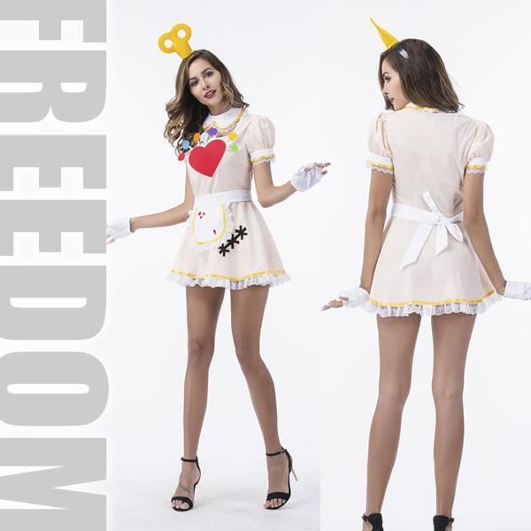 aa03c2a04eaa79 セール メイド メイド服 メイド衣装 コスプレ 衣装☆ねじまきカチューシャが可愛いおもちゃファンタジー