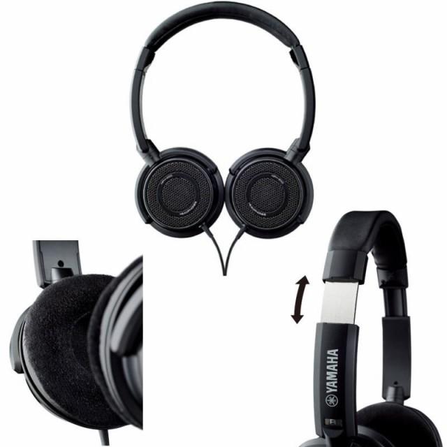 ヤマハ ヘッドホン (オープンエアー型) YAMAHA/ HPH-200 BLACK/ ブラック