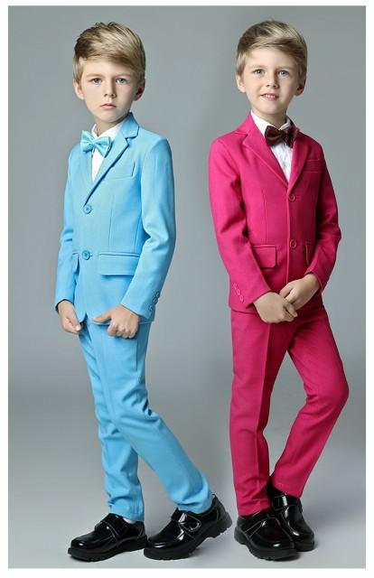 7bee9bc2f3581 新品 最高級 子供服 カラースーツ 5点セットキッズ 男の子 入学式 子供 ...
