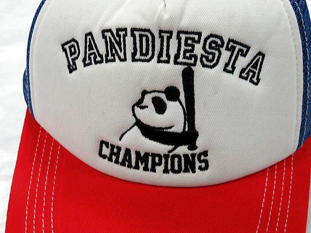 PANDIESTA JAPAN ベースボールパンダ メッシュキャップ パンディエスタ