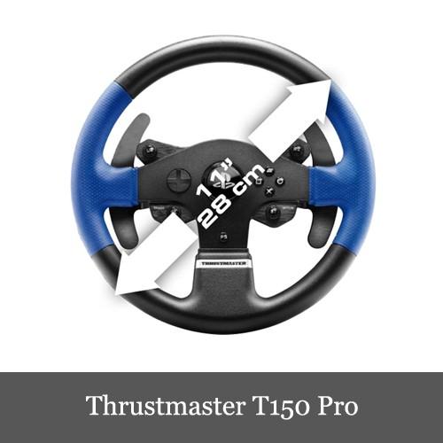 スラストマスターThrustmaster T150 Pro Force Feedback Racing Wheel レーシング ホイール 輸入版 PS3/PS4/PC 対応