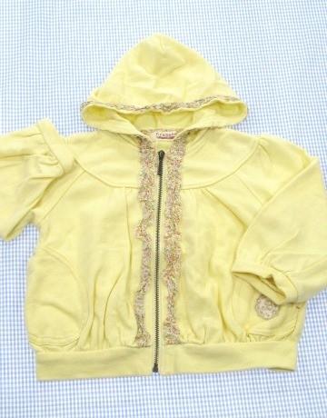 cbe278b5bc172 ブランシェス BRANSHES ジップアプパーカー 80cm 女の子 ベビー 子供服 ...