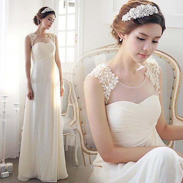 9fbcaca12d0f5 ウェディングドレス aラインドレス 安い ウエディングドレス 二次会 シンプル 花嫁 パーティードレス 披露宴 ブライダル