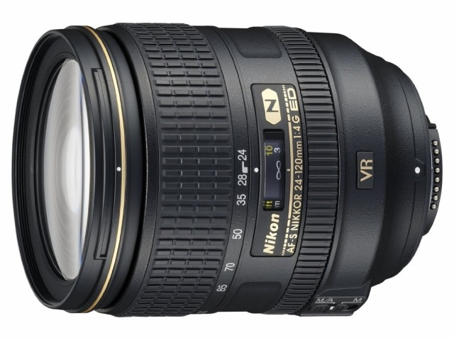 【SALE】 24-120mm 【 保証付 NIKKOR f/4G VR ED AF-S 送料無料】Nikon 標準ズームレンズ-カメラ