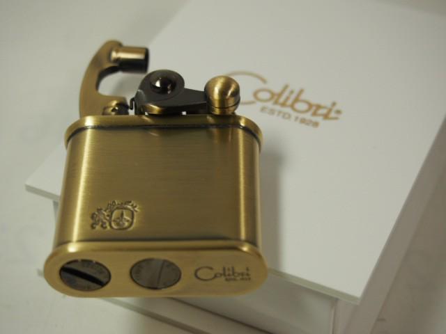 絶版 Colibri コリブリ  オイルライター308-0010 ブラスBrass 真鍮古美 日本製/ 新品