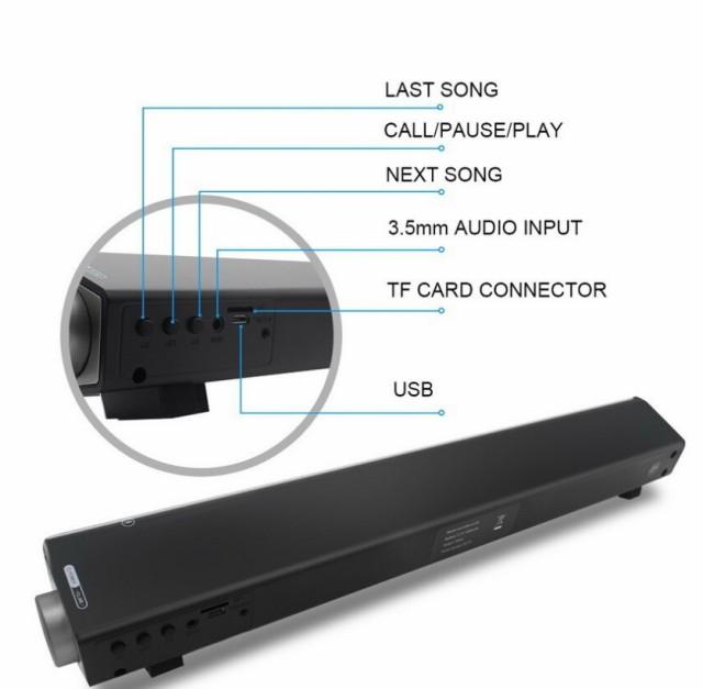 SOUNDBAR シアターバー ワイヤレス テレビスピーカー サウンドハウス ホームシアター デジタルサウンド ステレオスピーカー
