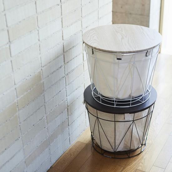 【送料無料】【全2色】テーブルバスケット Bambas+(バンバスプラス) ランドリーにもオススメ