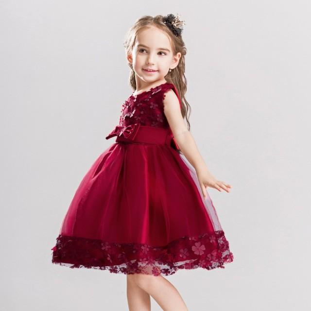 5d7ba4f785741 人気子供ドレス フォーマル キッズ 女の子 ジュニア 子供服 ワンピース ピアノ発表会 フラワーガール パーティー