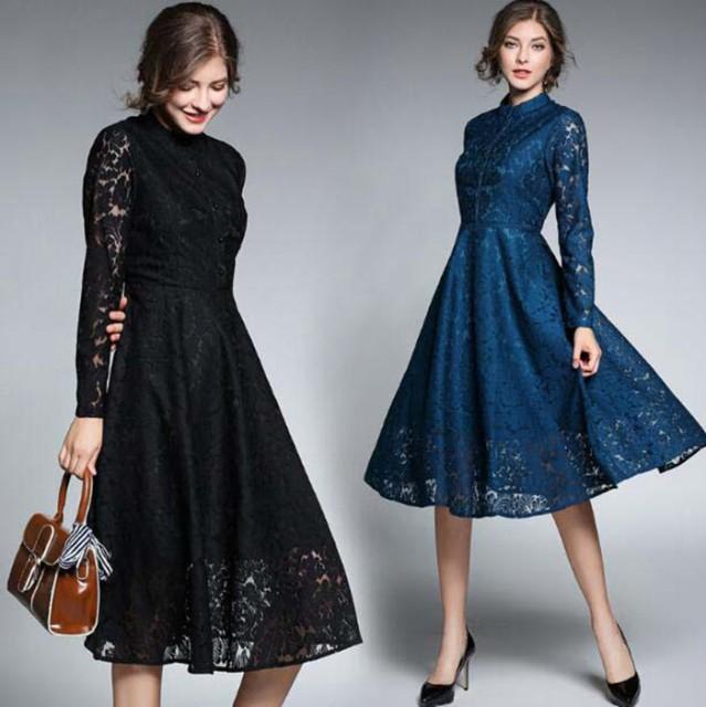 a6360ce514cb0 結婚式ドレス パーティドレス ゲストドレス フォーマル 大人 Aライン 長袖 結婚式 ワンピース 黒