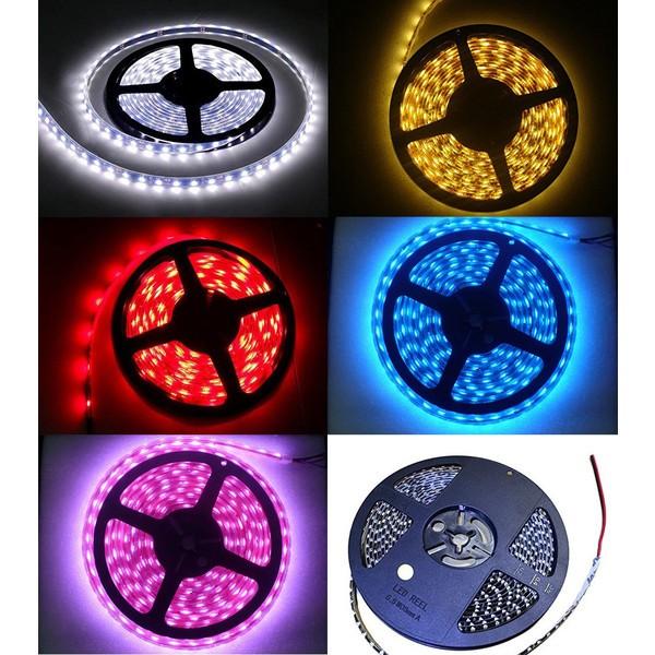特売セール LEDテープ 黒ベース 5m 300連SMD 正面発光 12V 防水 全5色から e-auto fun