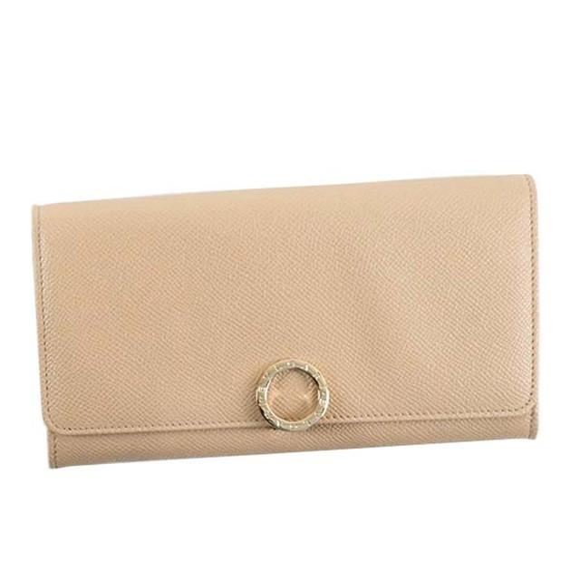 innovative design d34f7 951ea ブルガリ 長財布 レディース メンズ 財布 ファスナー 二つ折り 本革 レザー ブランド ウォレット ファスナー財布 カードポケット大容量