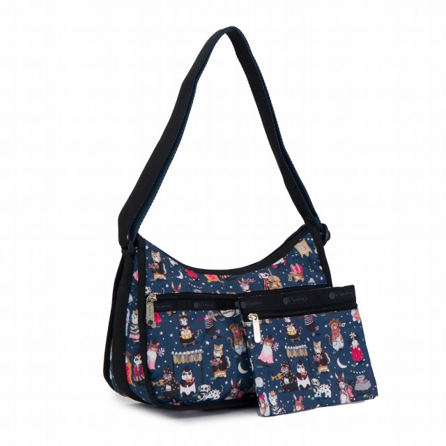 LeSportsac Classic Collection Classic Hobo Crossbody in Midnight Masquerade NWT