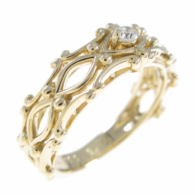 割引価格 【品】K18YG ダイヤモンドリング, GINZA XIAOMA 8d78b427