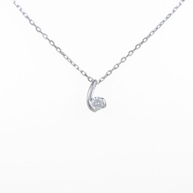 【当店限定販売】 【品】PT ダイヤモンドネックレス, ヤクモチョウ af81f9ce