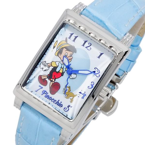 春新作の ディズニーウオッチ Disney Watch ピノキオ レディース 腕時計 MK1208D ホワイト, ROPE PICNIC/ロペピクニック 20bb8830
