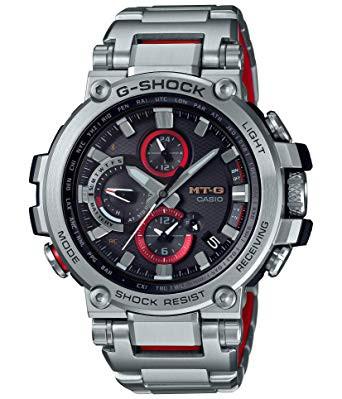 超高品質で人気の [カシオ] 腕時計 MTG-B1000D-1AJF ジーショック MT-G Bluetooth 搭載 電波ソーラー MTG-B1000D-1AJF 搭載 メンズ ジーショック シルバー, イーグルアイ:21c37c83 --- standleitung-vdsl-feste-ip.de