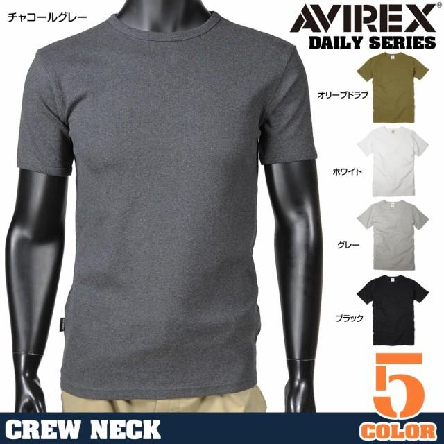 AVIREXTシャツ半袖クルーネック無地デイリー