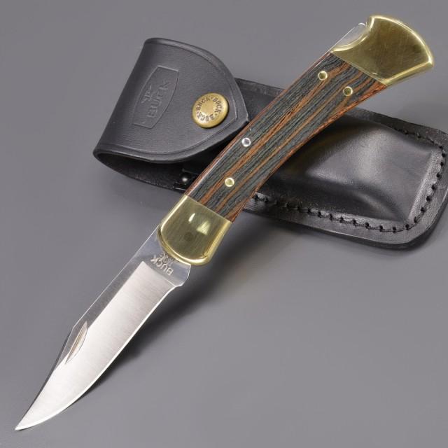 BUCK折りたたみナイフ110BRSフォールディングハンター