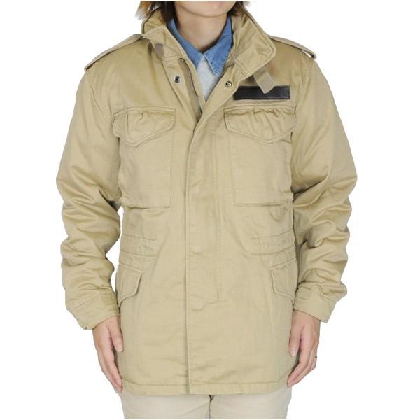 ファッションなデザイン AVIREX M-65 フィールドジャケット [ カーキ / Lサイズ ][6122081053l], Purple Leaf 76cd498d