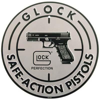 Glockサイン看板セーフアクションアルミ
