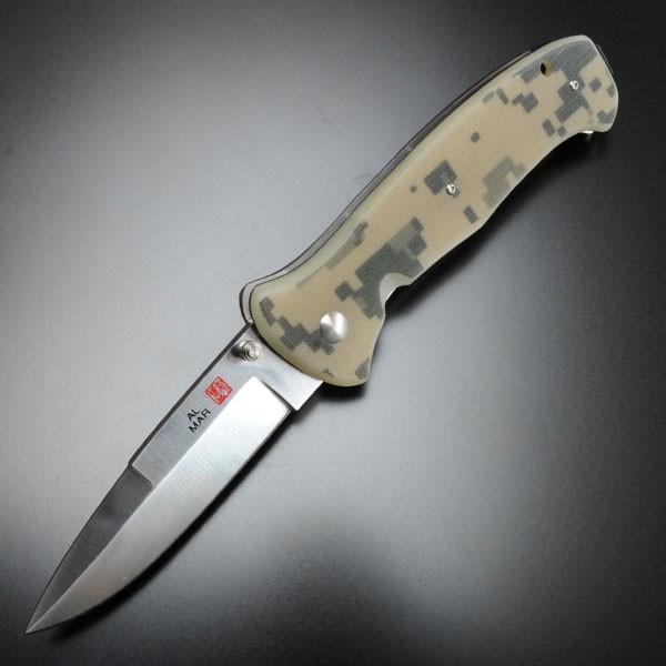 AL-MAR折りたたみナイフSERE2000デジタルカモ
