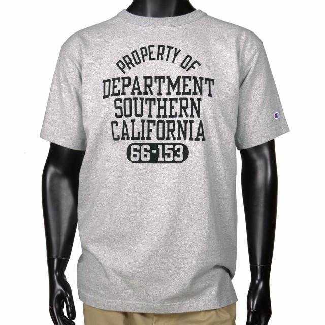 チャンピオンTシャツ半袖T1011カリフォルニアメンズ
