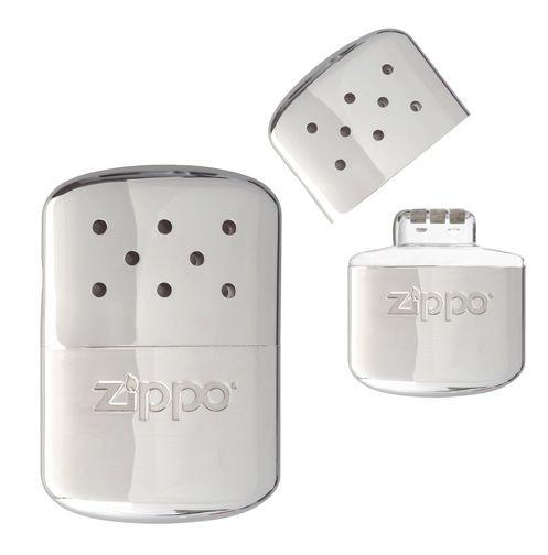 ZIPPO カイロ ハンディウォーマー オイル充填式 [ シルバー ][z182]