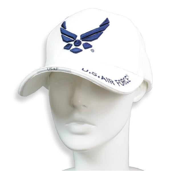 Rothco キャップ U.S. Air Forceロゴ [ ホワイト ][ro915404]