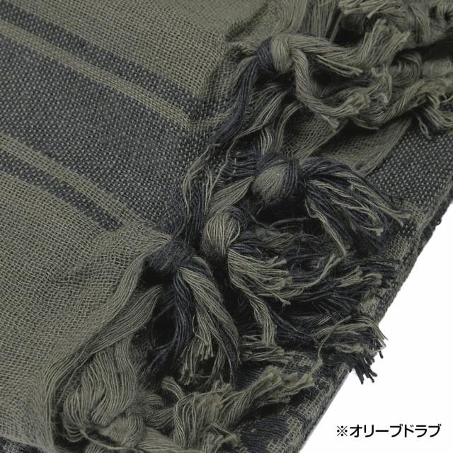CONDOR アフガンストール 201 シュマグ [ ブラック&ホワイト ][co201005]