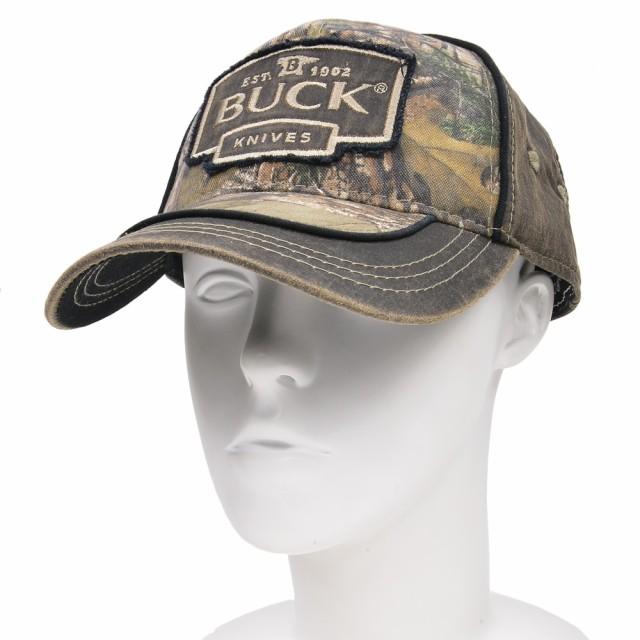 BUCK 野球帽 89087 ロゴ入り リアルツリー[bu89087]