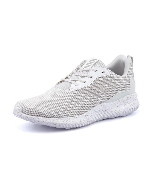 sports shoes 6821b a2d63 adidas(アディダス) ALPHABOUNCE RC(アルファバウンスRC) CG5125 ランニングホワイトグレーワン