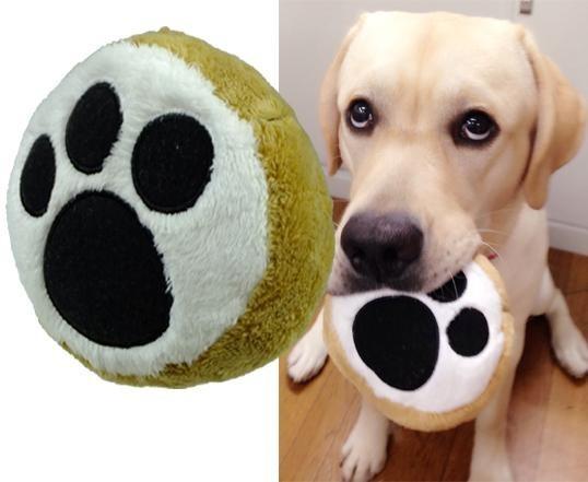 ボアトーイ びっくり ブル足 犬の足型がかわいい犬用のおもちゃ