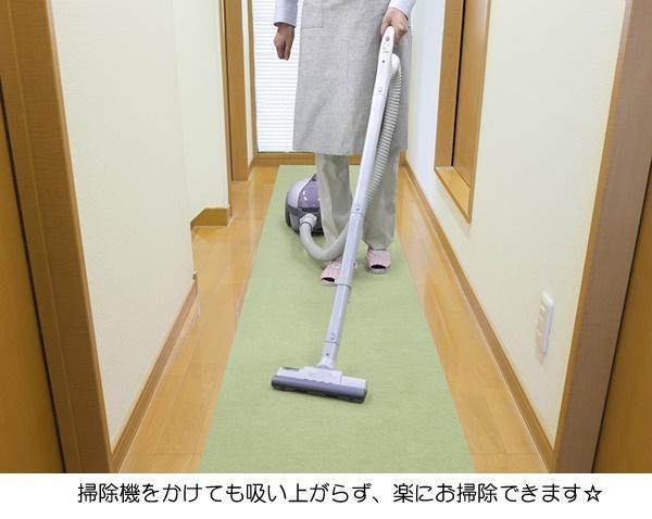 廊下・縁側に!おくだけ吸着ロングマット 60×200cm