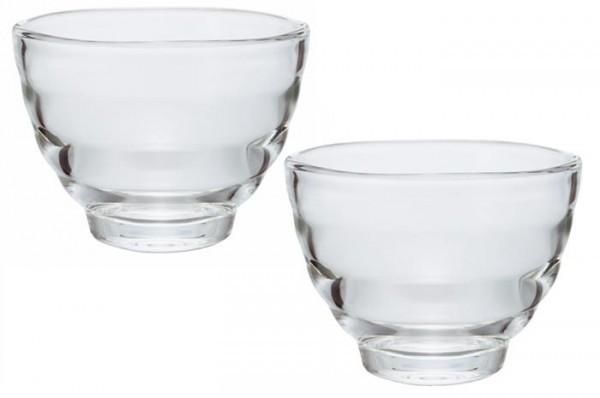 HARIO ハリオ  耐熱湯呑み・2客セット HU-0830 ガラスでひんやり スッキリテーブルウェア