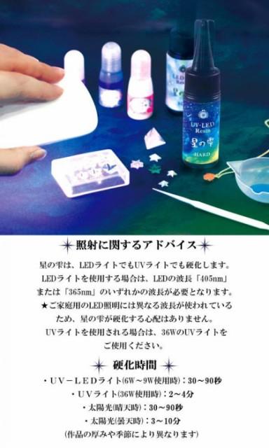 PADICO パジコ UV-LEDレジン 星の雫ハードタイプ 詰替用 200g