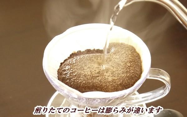 コーヒーの鮮度は膨らみ