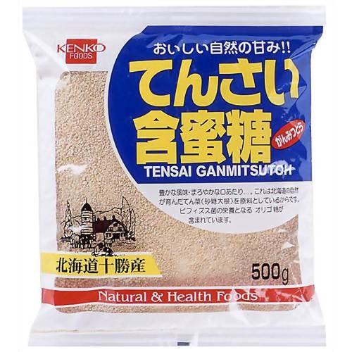 健康フーズ てんさい含蜜糖 (てんさい糖) 500g